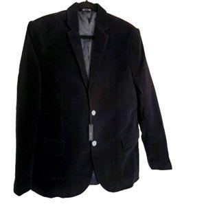GAP Men's Black Italian Fabric Blazer, Black, 40R
